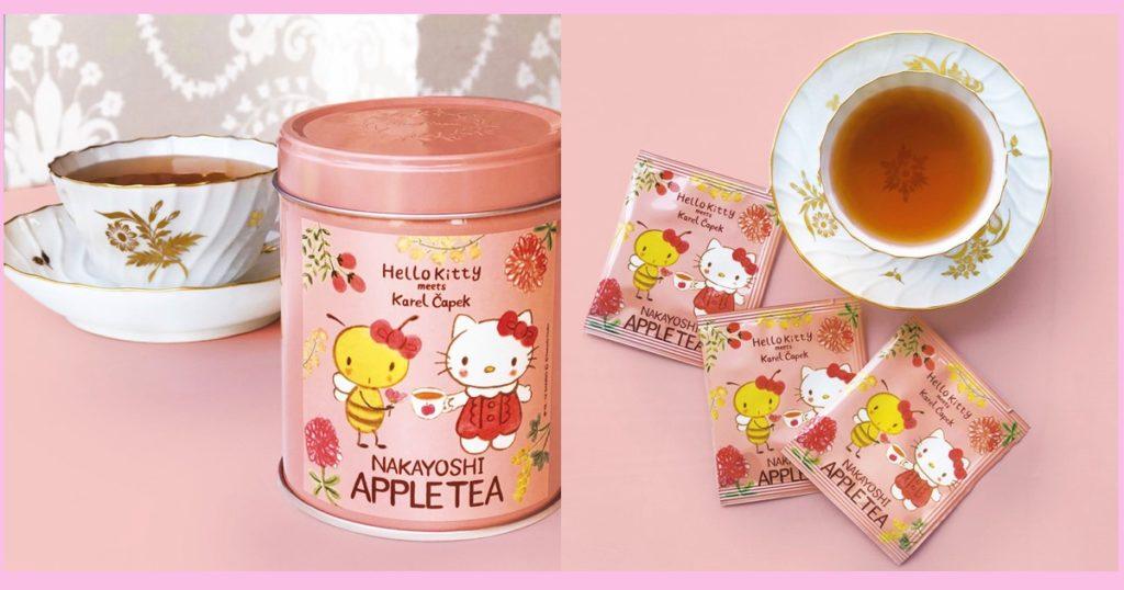 ハローキティ×カレルチャペック紅茶店 「なかよしアップルティー」