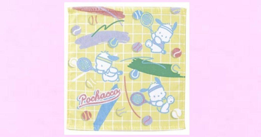 【ポチャッコ】ハンドタオル テニス(スポーツ)
