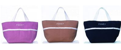 25ans 定期購読プレゼント FOXEY フォクシー ピクニックトートバッグ