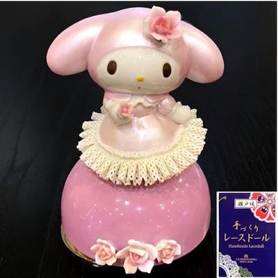 愛知県瀬戸市 マイメロディ(40周年記念アニバーサリー)陶製オルゴール
