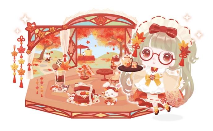 【ハロスイ・イベント】ウィッシュミーメルの紅葉色づく和菓子屋さん(2021年9月19日〜9月29日)